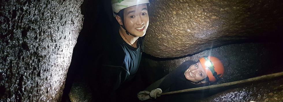Labertouche caving