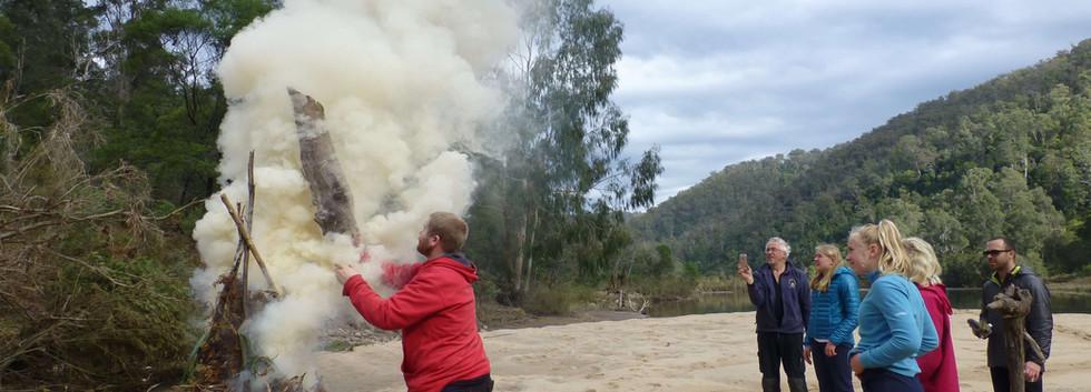 Signal fire, Born survivor course
