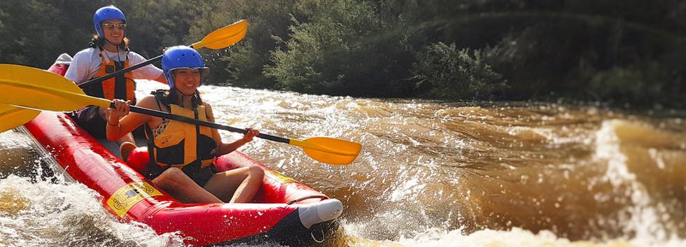 Whitewater kayaking Melbourne Yarra river