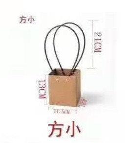 Пакет маленький квадратный