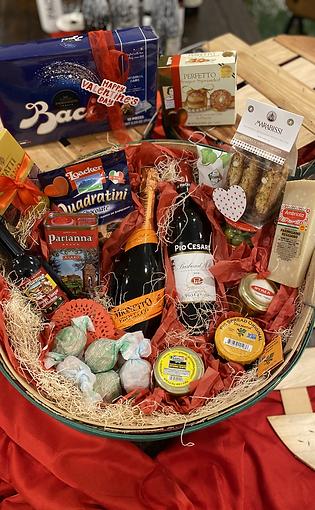 Valentine's Day Large Antipasto & Sweets Basket