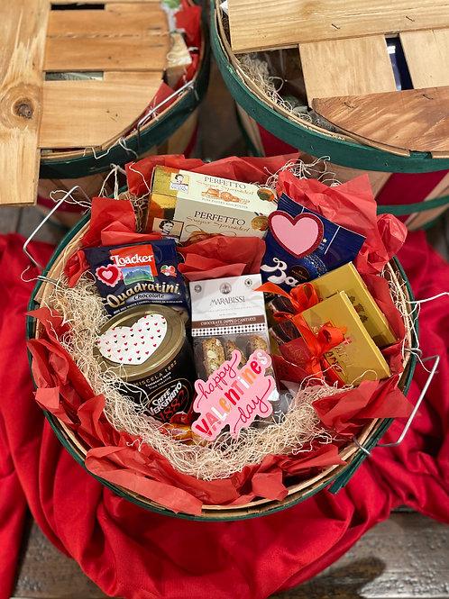 Valentine's Day Sweets Basket