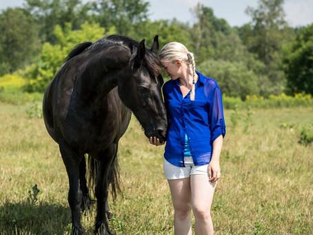 Zoothérapie facilité par le cheval