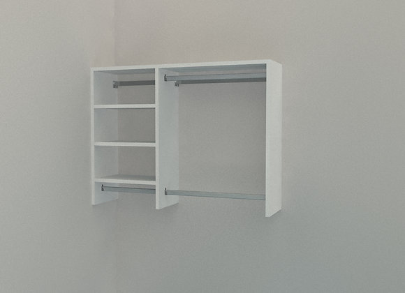 Reach in Wardrobe - Up to 1600mm - 2 Bay