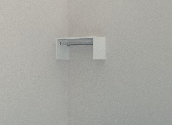 Wardrobe - Single Shelf with Rail Up to 1m wide 1 Bay
