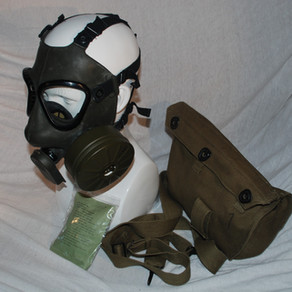 Norwegian Imported -  Swedish M-51 Gas mask