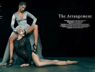 """LeFair Magazine """"The Arrangement"""" Editorial"""