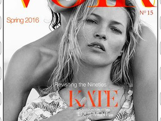Voir Fashion: Issue 15 - Kate Moss | Revisiting the 90s