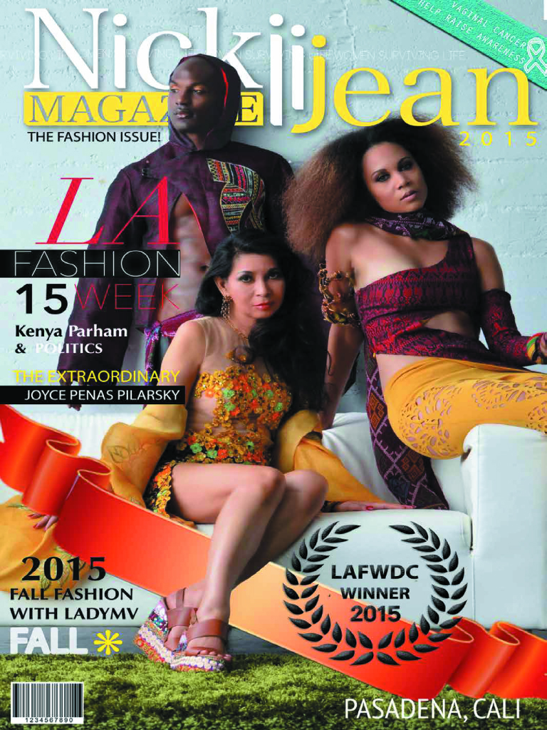 NickiiJean Magazine Cover