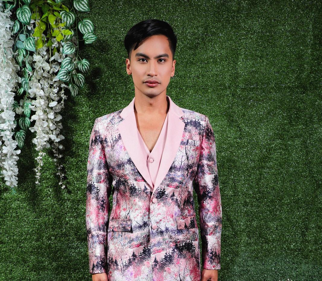 JPP Floral Pink Suit