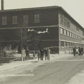 The production of Gas masks at Viking