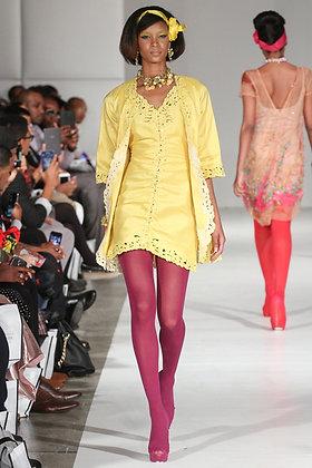 Yellow Jusi Dress