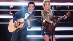 Laine Hardy of American Idol 2019 in Joyce Penas Pilarsky suit