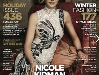 Famous Actress Nicole Kidman is on the cover of Industry Magazine