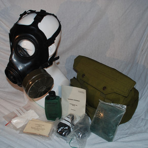 Norwegian Imported -  Avon FM12 Gas mask