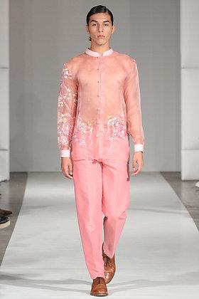 Barong Tagalog Pink
