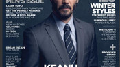 Hollywood Actor Keanu Reeves on the cover of Industry Magazine