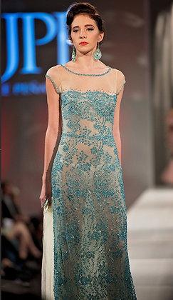 Light Aqua Blue Dress