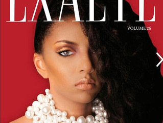 Joyce Penas Pilarsky Necklace on the cover of Exalte Magazine