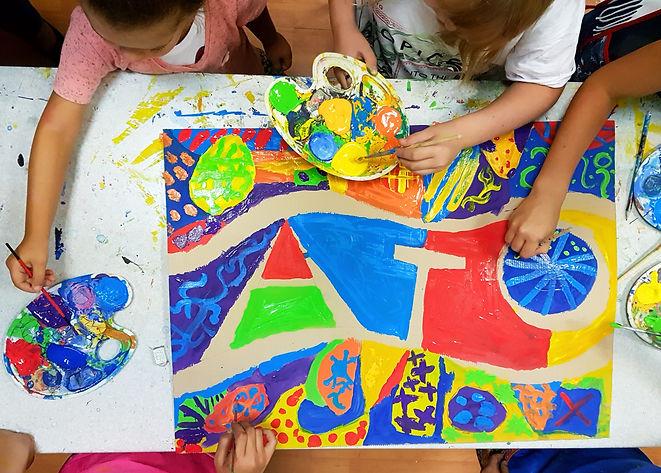 Творческая мастерская для детей 4-6