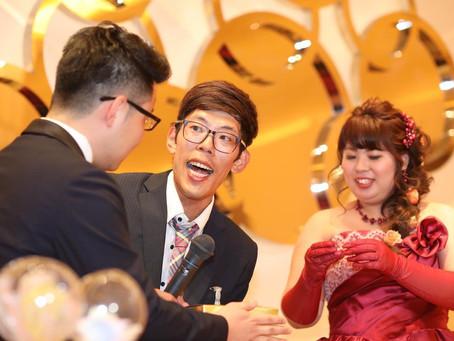 2019.5.11  お笑い好きな新郎新婦様の結婚式二次会パーティーをプロデュースさせて頂きました!