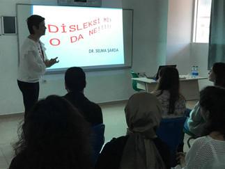 """Dr. Selma ŞARDA ile """"Disleksi Farkındalık Semineri"""""""