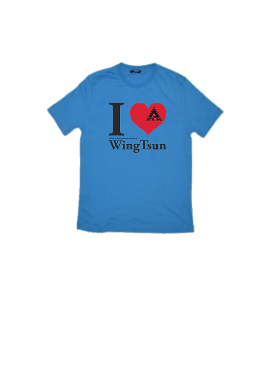 ATILIM Graphic Tee_I Love WingTsun