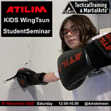 ATILIM KIDS WingTsun Seminar at Amstelveen School