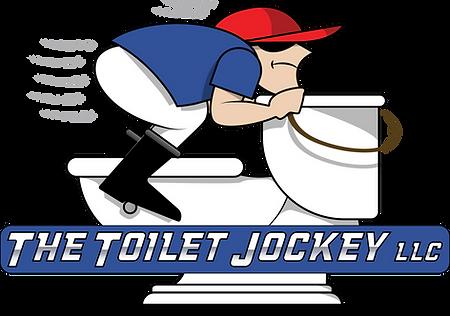 the toilet jockey logo