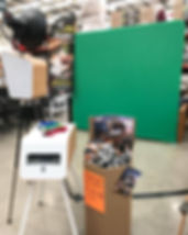 Greenscreen Photo Booth for hire in Melbourne