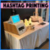 Hashtag Printer Hire Melbourne
