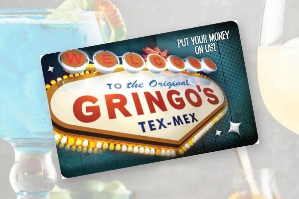 Gringo's Gift Certificate $50