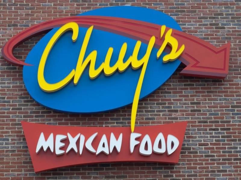 Chuy's Dinner for 2