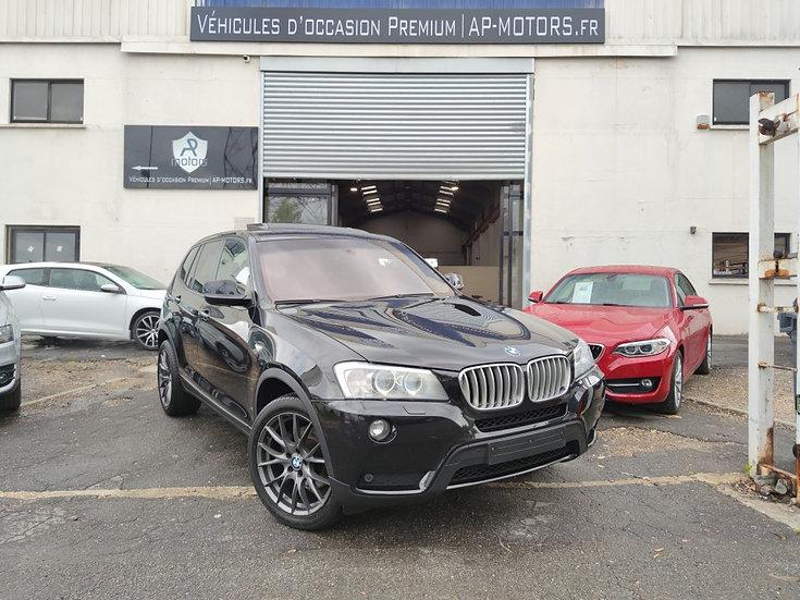 BMW X3 F25 XDRIVE30D 258 EXCELLIS BVA8