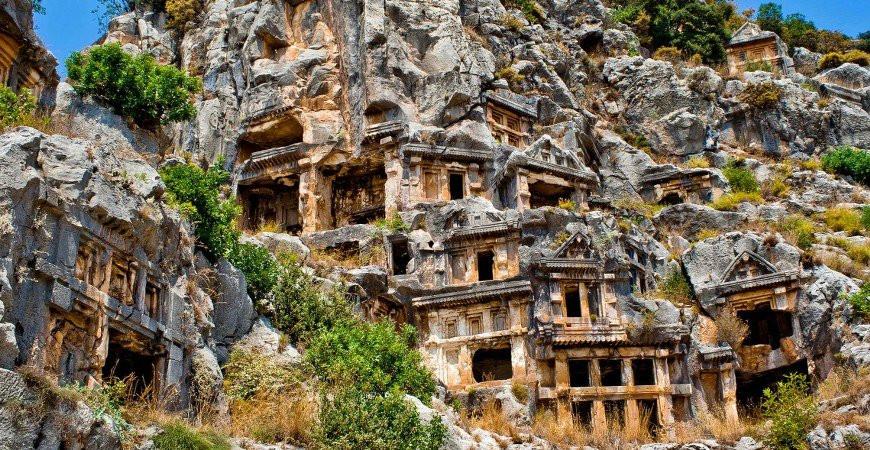 Amintas Kaya Mezarları: Muğla'nın Gizli Tarihi
