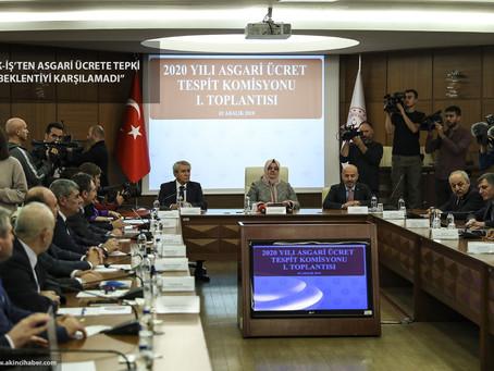 Türk-İş'ten Asgari Ücrete Tepki: Beklentiyi Karşılamadı
