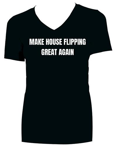 Make House Flipping Great Again Womens T-shirt