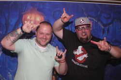 Fun Halloween get together hosted at Matt's house October 2019