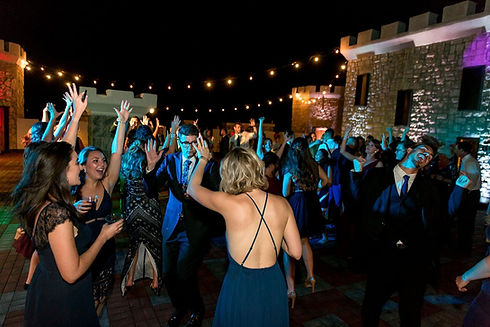 Rooftop dance party at Kentucy Castle, event by RipTide Productions.