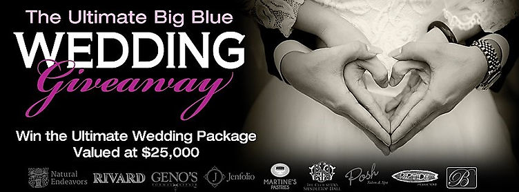 The Ultimate Big Blue Wedding Giveaway