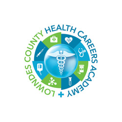 Lowndes County Health Careers Academy Logo