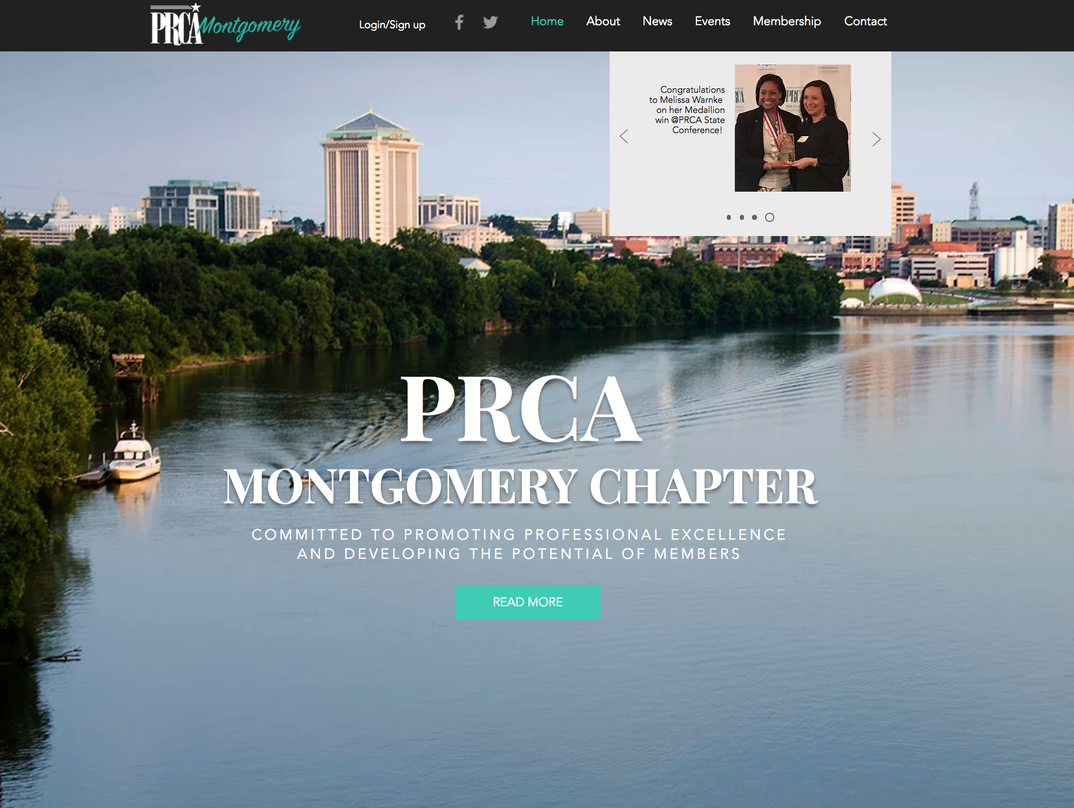 PRCA Montgomery Website