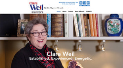 Clare Weil Campaign Site