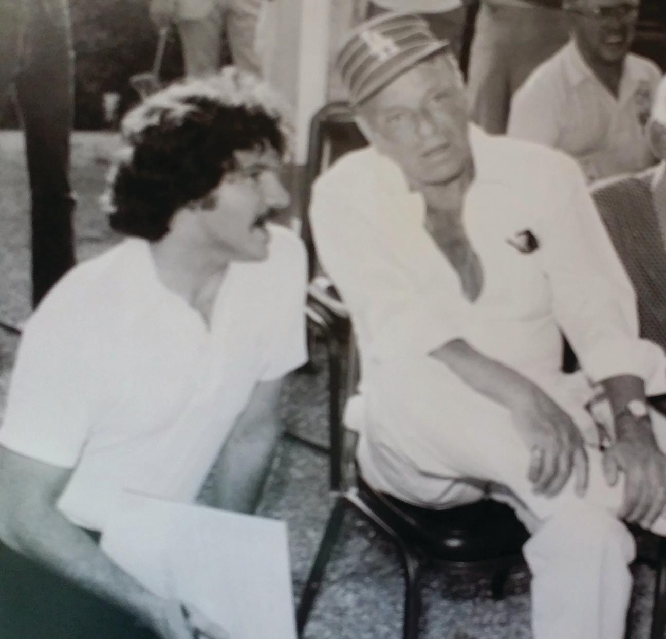Zas and Frank Sinatra