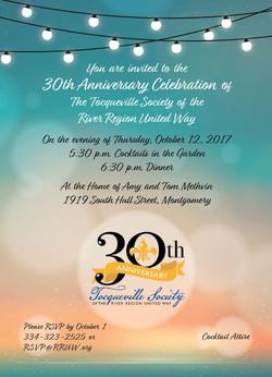 30th Celebration Invitation