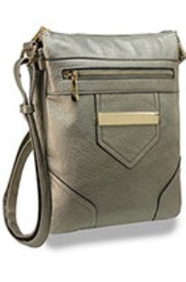 DUAL COMPARTMENT FRONT CROSS BODY