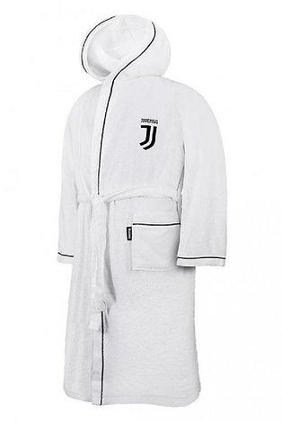 """Accappatoio c/cappuccio """"Juventus"""" prodotto ufficiale bimbo/ragazzo"""