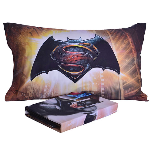 """Lenzuola copriletto singolo 1 piazza Caleffi mod.""""Batman vs Superman"""""""