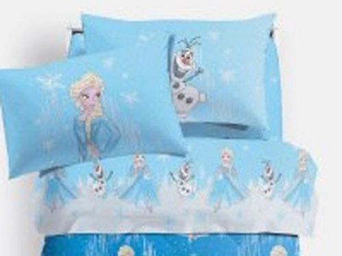 """Completo/letto lenzuola singolo 1 piazza Caleffi Frozen mod. """"Magia"""""""