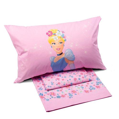 """Completo letto/lenzuola singolo 1 piazza Caleffi Princess mod.""""Romantica"""""""